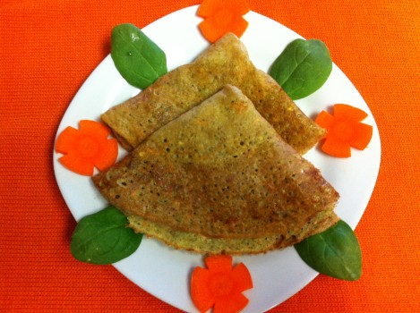 Nutritious Sprouts Dosa
